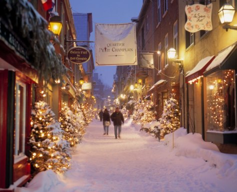 Image: Quebec City Winter