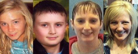 Image: Missing Ohio family