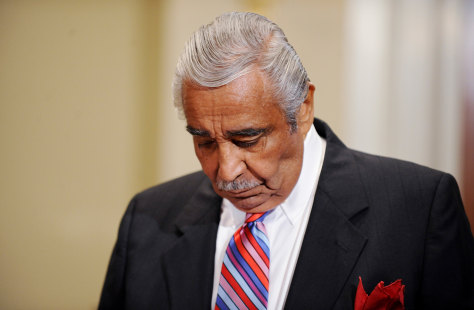 Image:  Rep.Charles Rangel on Monday