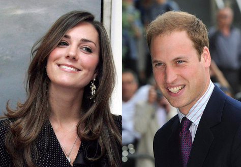 Image: Kate Middleton, Prince William
