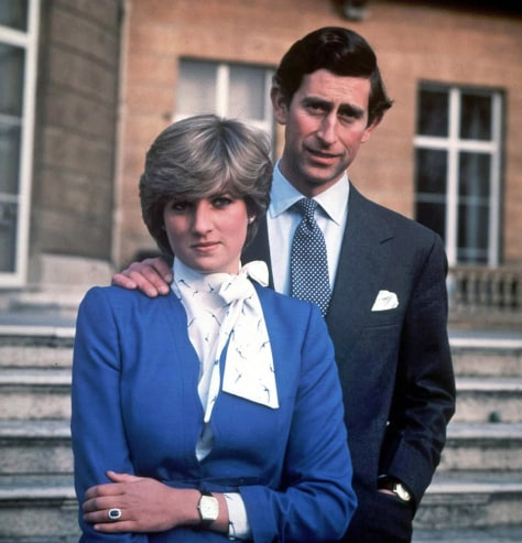 Image: Prince Charles and Lady Diana Spencer