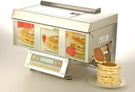 Turn Your Kitchen Into An Ihop With The Chefstack Automatic Pancake Machine It Can Spit Out Perfectly Shaped Pancakes At Rate Of 200 Per Hour