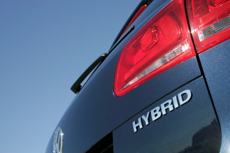 Hybrids are becoming a widely offered mainstream option, as Volkswagen's 2011 Touareg hybrid SUV illustrates.