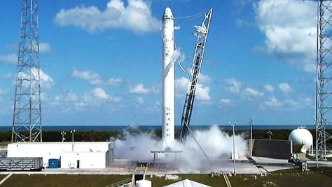 Image: SpaceX rehearsal