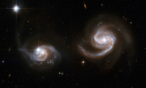 Image: Pair of spiral galaxies
