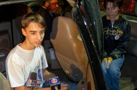 Image: Austin Biehl who was taken hostage atMarinette High School