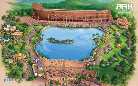 Image: The Ark Encounter theme park