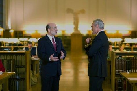 Image: Bernanke, Pelley