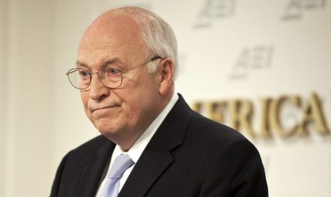 Image: File photo of former US Vice President Cheney speaking in Washington