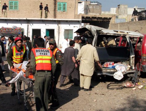 Image: Bomb attack in Kohat, Pakistan