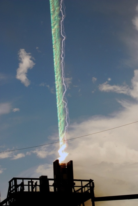 Image: X-ray lightning