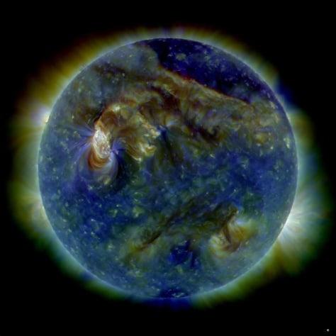 Image: Sun storm
