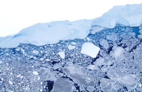 Image: Sea ice off Antarctica