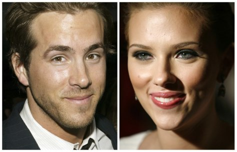 Image: Ryan Reynolds and Scarlett Johansson