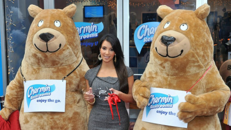 Image: 5th Annual Charmin Restrooms In Times Square Ribbon Cutting