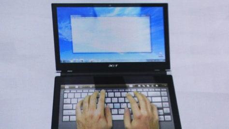 Image: laptop computer