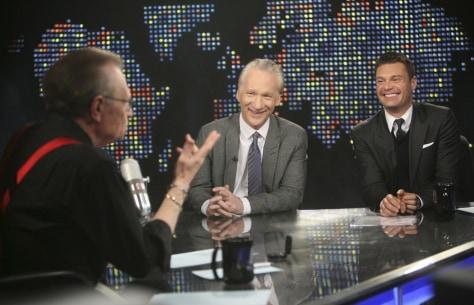 Image: Larry King, Bill Maher, Ryan Seacrest