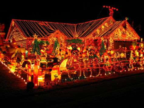Courtesy of Nerd Approved - 10 Christmas Light Shows Sure To Blow The Grid - Technology