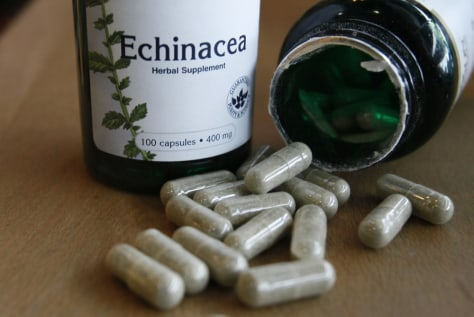 Image: The dietary supplement echinacea