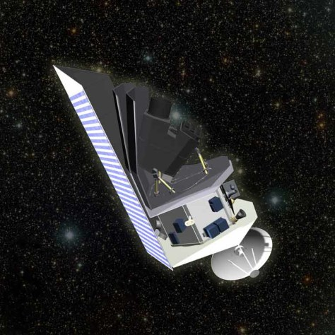 Image: Near-Earth Object Survey spacecraft