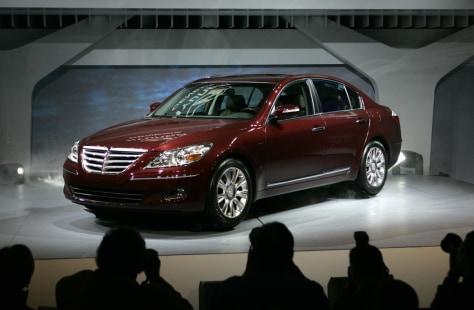 Image: Genesis sedan