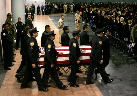 Image: Javier Bejar funeral