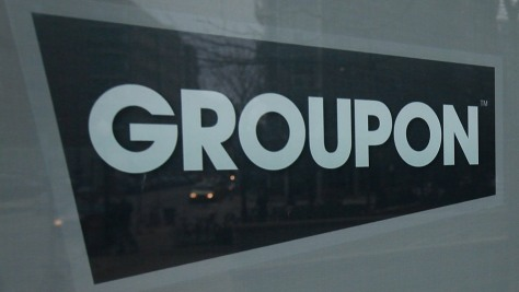 Image: Groupon office sign
