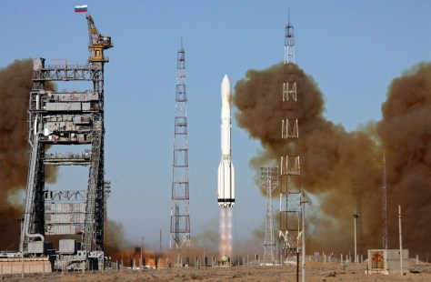 Image: A Proton-M rocket, carrying the Russian