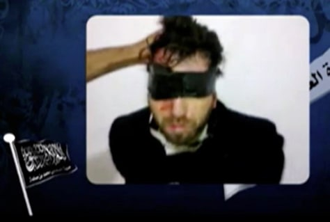 Image: Kidnapped Italian activist