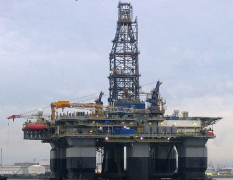 Image: Drilling rig