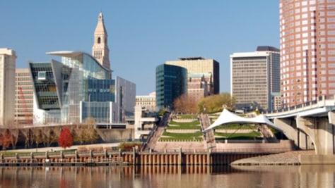 Image: Hartford, Conn., cityscape