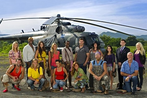 "Image: ""Survivor"" cast"