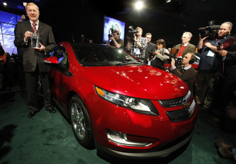 Image: Volt named 2011 Car of the Year