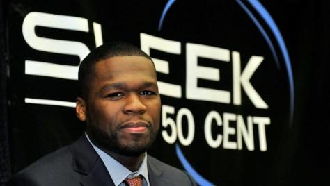 Image: Rap artist 50 Cent