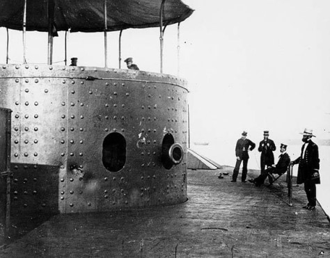 Image: 1862 photo of USS Monitor