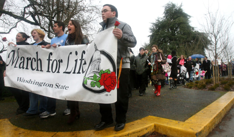 Image: March for Life in Olympia