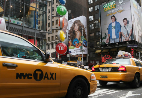 Image: Taxi in Times Square