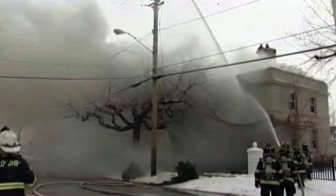 Image: Fire in Fairport Harbor, Ohio