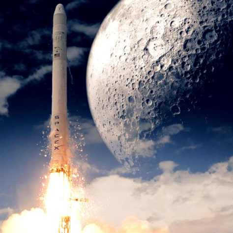 Spacex Sells First Its Ticket For A Moon Launch Technology Amp Science Science Discoverynews