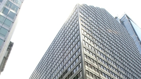 Image: former Arthur Andersen offices, Chicago