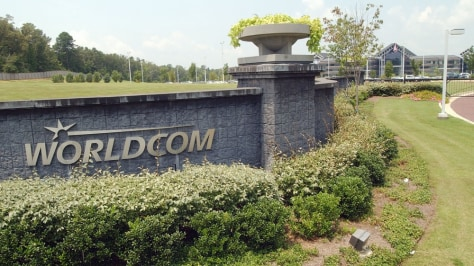Image: former WorldCom HQ in Clinton, Miss.