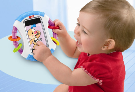 Image: Fisher-Price Baby iCan Play iPhone case