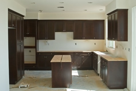 Image: Minor kitchen remodel