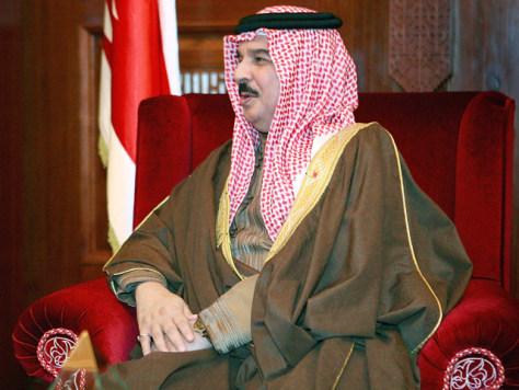 Hamad bin Isa Al Khalifa king of Bahrain