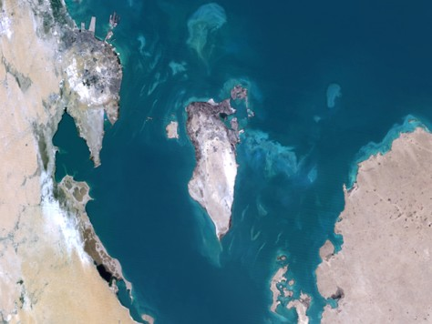 Image: Satellite image of Bahrain