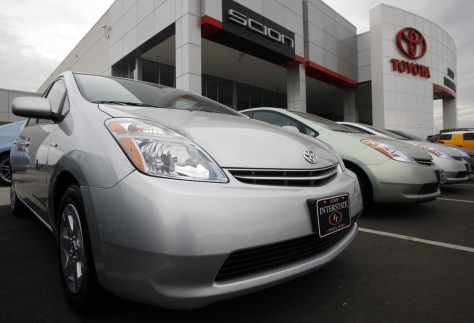 Image: Toyota Prius sedans