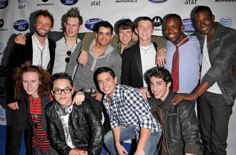 """Image: """"American Idol"""" semifinalist men"""