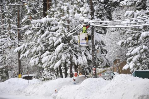 Image: Snow in Sierras
