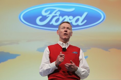 Image: Ford CEO Alan Mulally