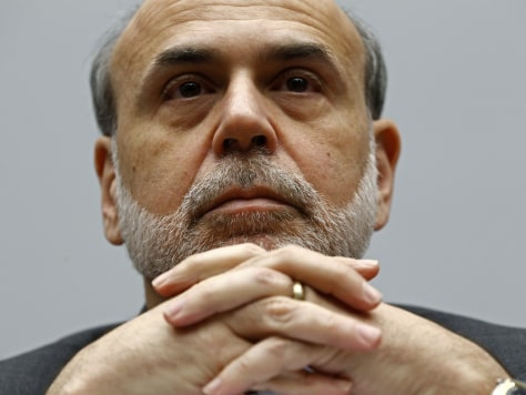 Image: Bernanke testifies on Capitol Hill in Washington
